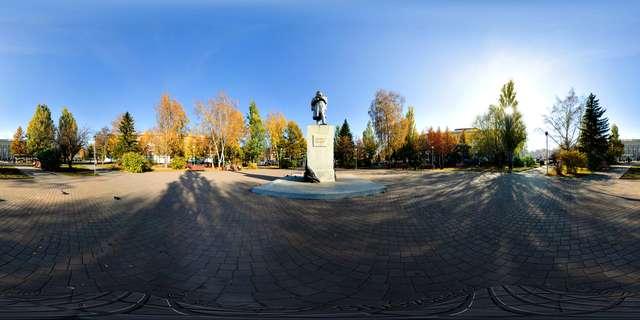 кемерово памятник волкову
