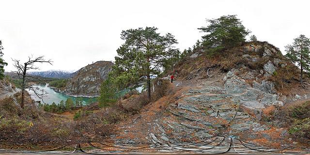 горный алтай чемал куба катунь слияние рек