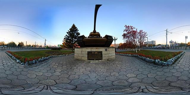 барнаул памятник танку т34
