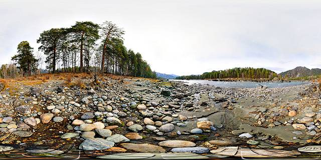 горный алтай река катунь