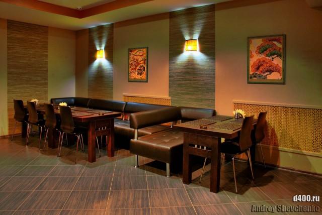 интерьер ресторана мандарин HDR