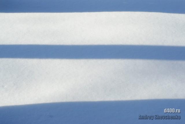snow and shadows тени на снегу