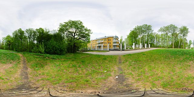 Горки ленинские дом и дуб