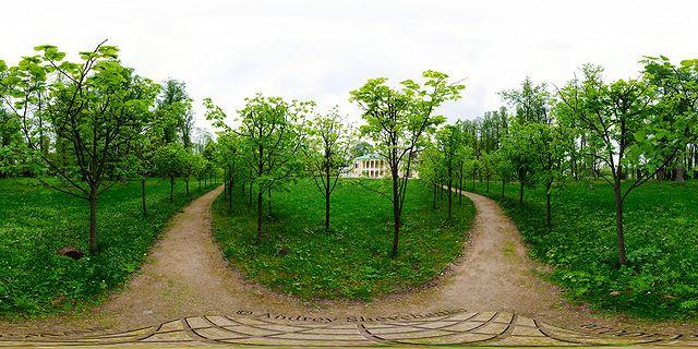 усадьба горки ленинские сферическая панорама
