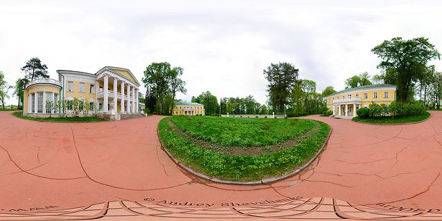 усадьба горки ленинские фото панорама