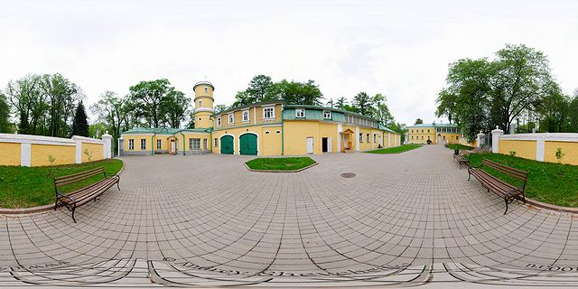 флигель хоздвор горки ленинские прогулка фото