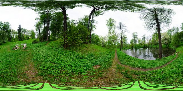 малый пруд усадьба музей заповедник горки ленинские