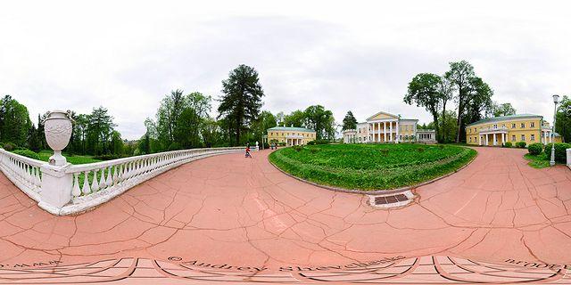фото усадьбы горки ленинские