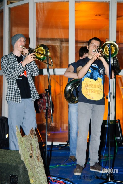 МосБрас на сцене