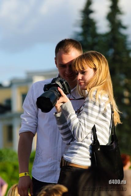 фотоаппарат и человеки