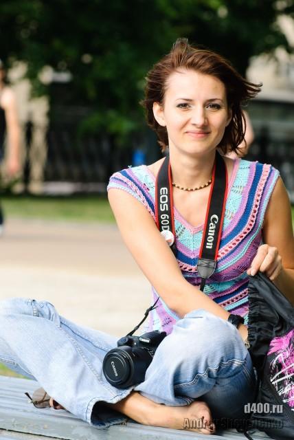 фотографиня в ожидании жертвы