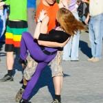 ощущение невесомости в танце