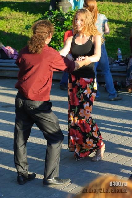 страсть к латинским танцам