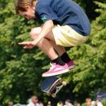 Фан зона скейпарк skateboarding фото