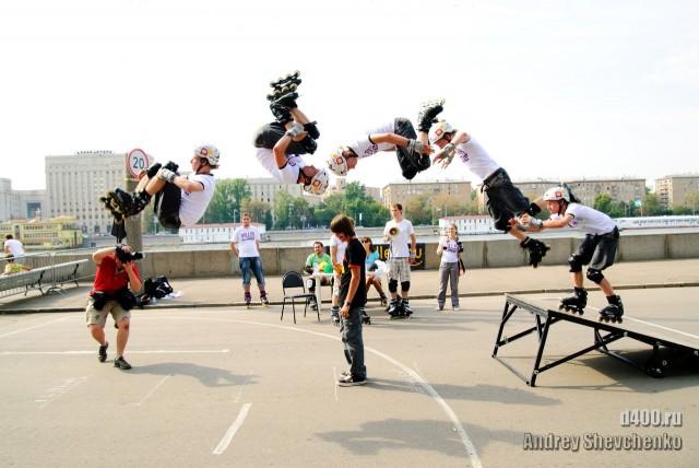фото стайл джамп прыжки на роликах