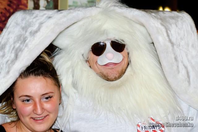 девушки грелись под ушами мега зайца
