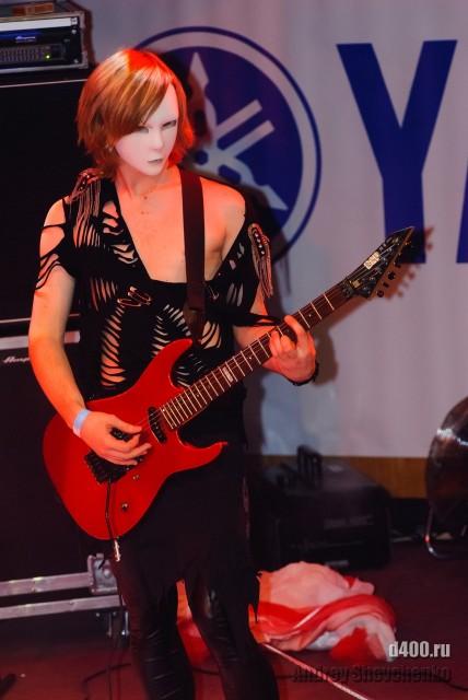 David Gray гитарист Ange Noir