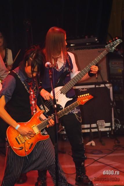 выступление группы Dorama