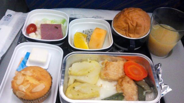 flight food CZ325 Guangzhou - Sydney. Supper